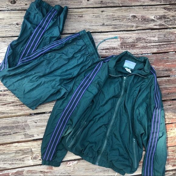 Vintage Other - Vintage Solare Sporta 90's Track Suit